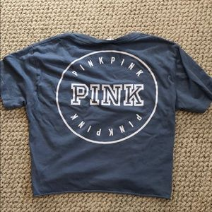 Victoria's Secret PINK cropped tee